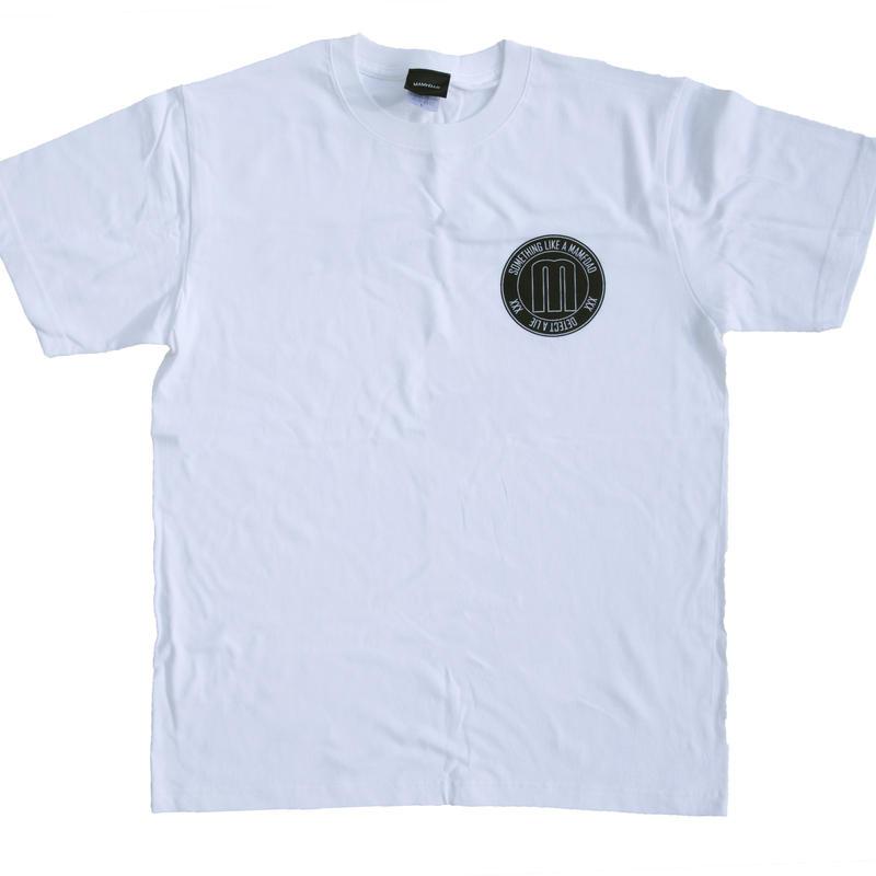 【WHT】 circle logo T