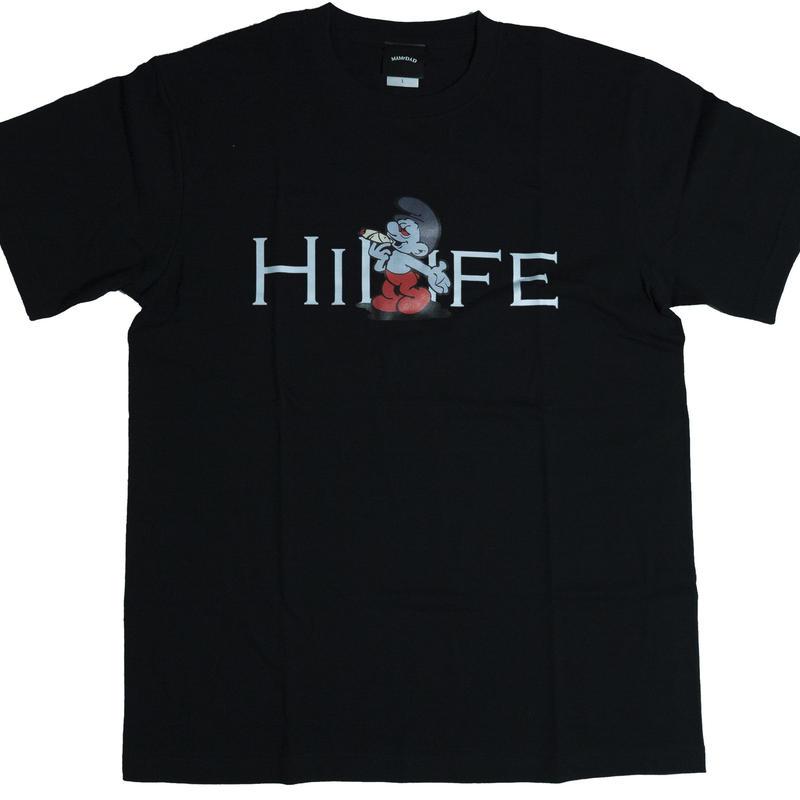 【BLK】hi life T- shirt