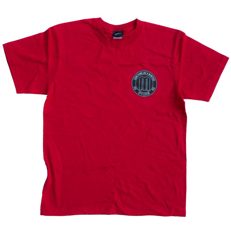 【DEEP RED】circle logoT