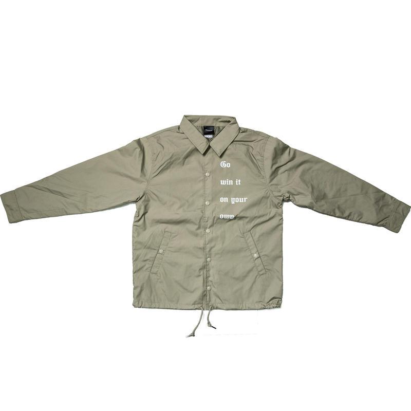 【Beige】coach jacket 2017