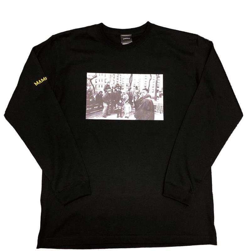 【BLK】ILLMATIC long sleeve T-shirt