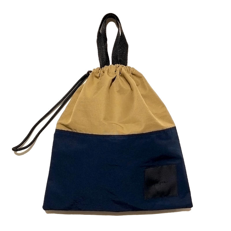 Bague  DRAWSTRING BAG / NAVY