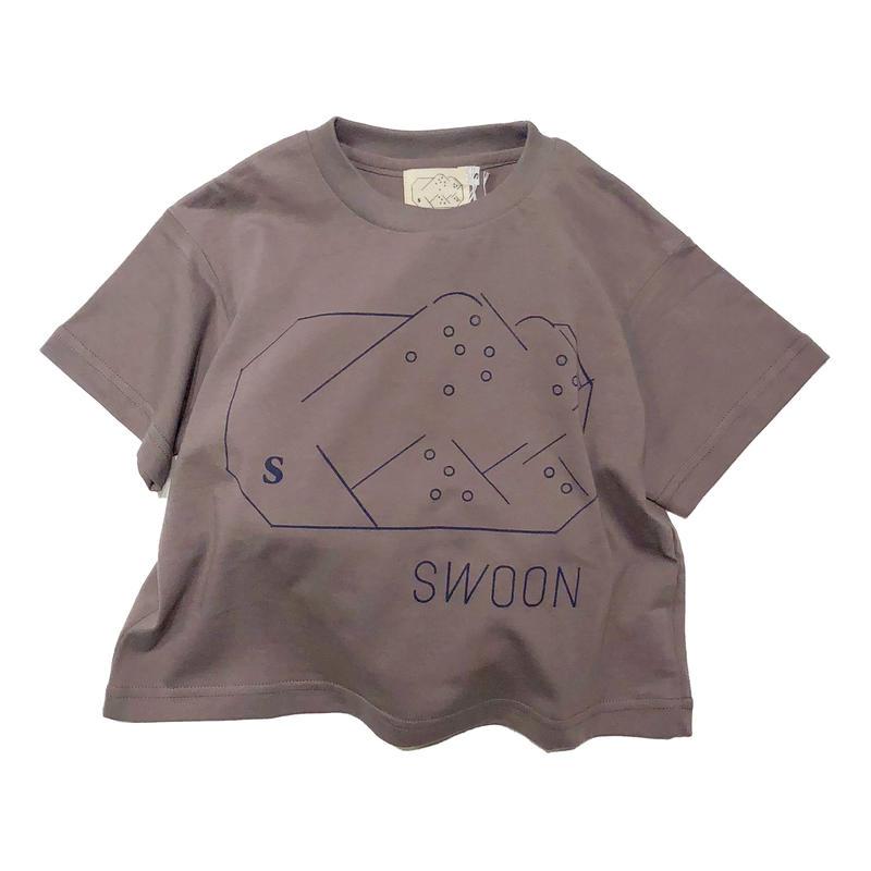 SWOON / swoonプリントTsw11-800-500ベージュS.M.L.XL