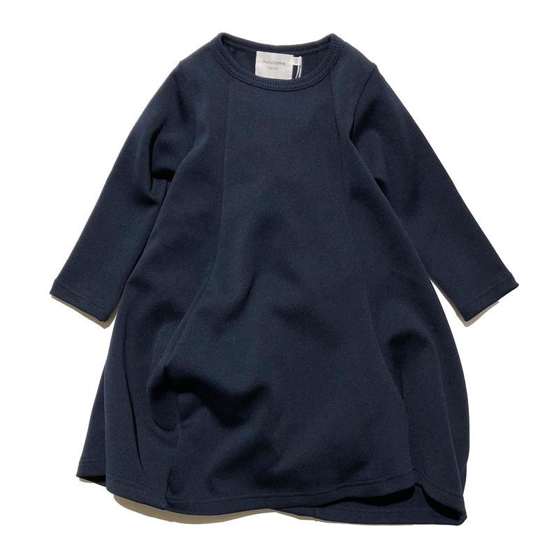 nunuforme / ドレープワンピース ネイビー95.105.115.125.135.145