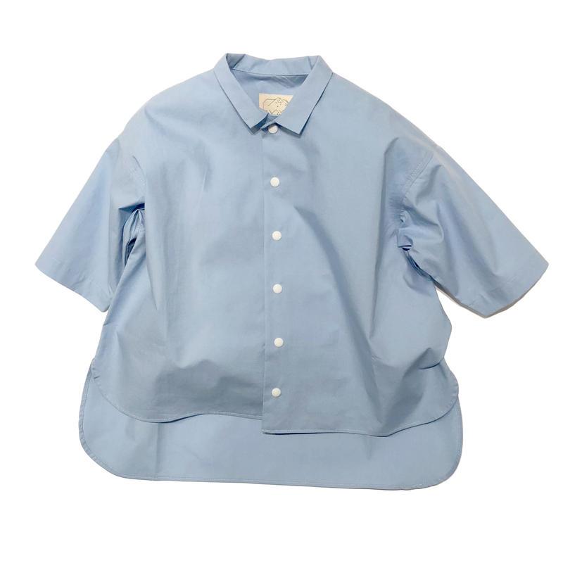 SWOON / ワイドシャツsw11-500-002ブルーS.M.L.XL