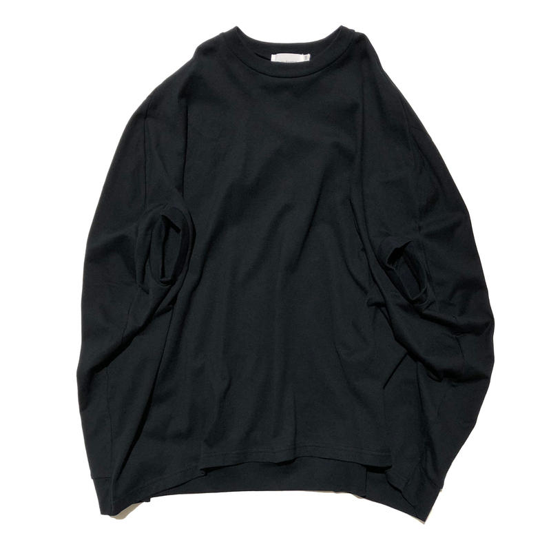 nunuforme / カーブワンピース ブラック95.105.115.125.135.145