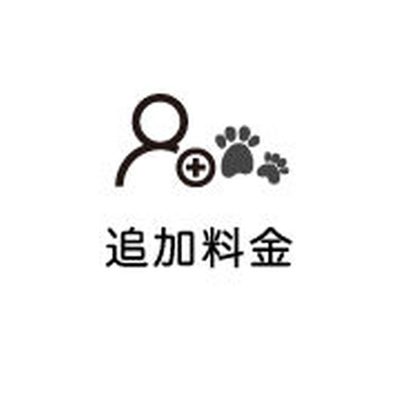 人物・ペット追加料 / ウェルカムボード用