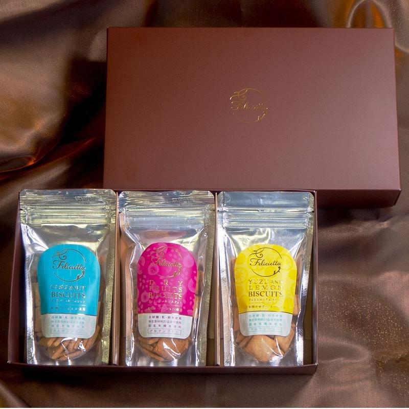 【New】お米の恵み・グルテンフリーギフトセット(ココナッツ・ドライフルーツ・ゆず&レモン)