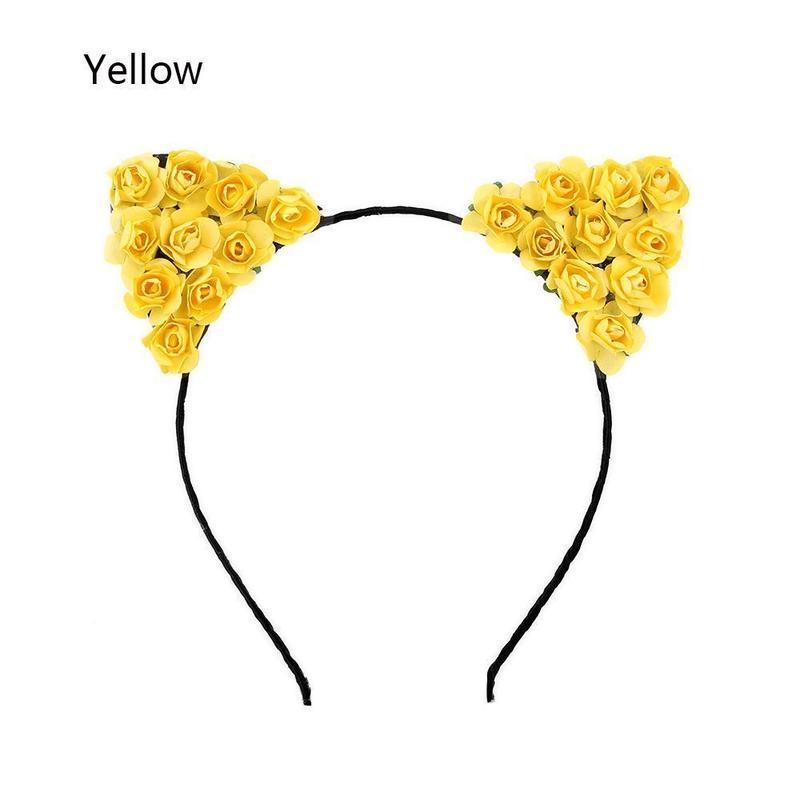 flower cat カチューシャ 全7色