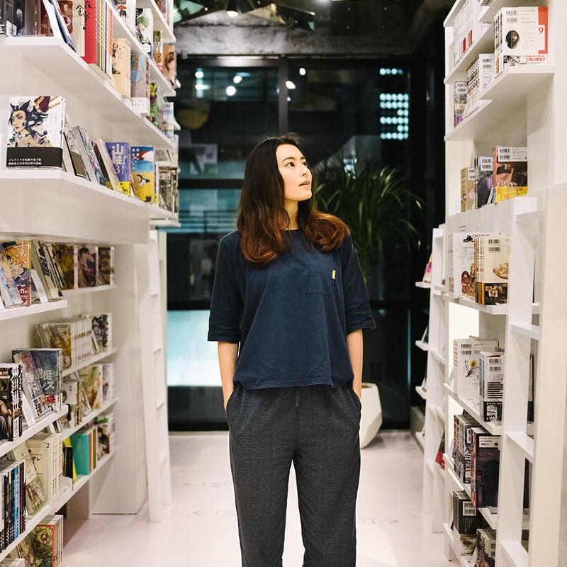 "Nells × MANGA ART HOTEL,TOKYO  オリジナルパジャマ ""KOMAGOMA"" TOPS / PANTS (S SIZE)"