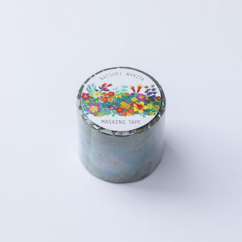 (NEW!) NATSUKI WAKITA MASKING TAPE-Big Blue 40mm