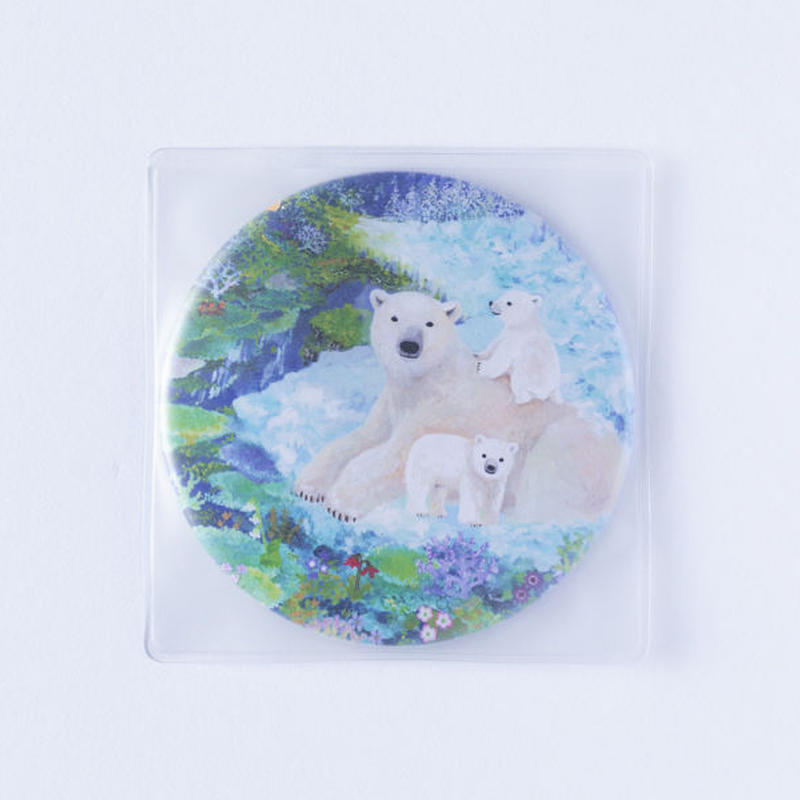 (NEW!) NATSUKI WAKITA CAN MIRROR-Polar Bear