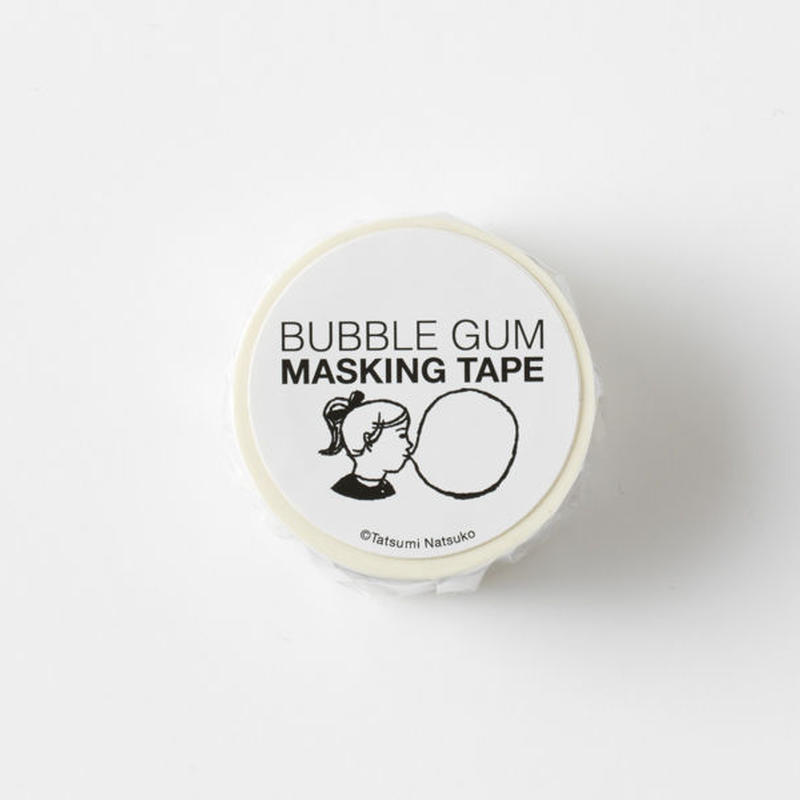 BUBBLE GUM MASKING TAPE-White