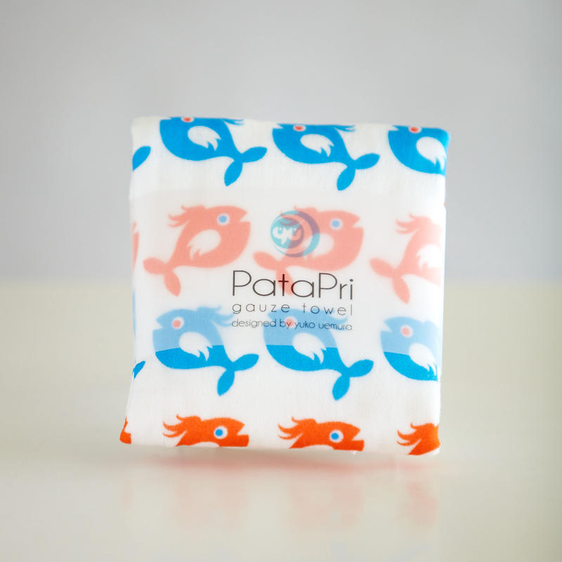 PATAPRI GAUZE TOWEL-FISH