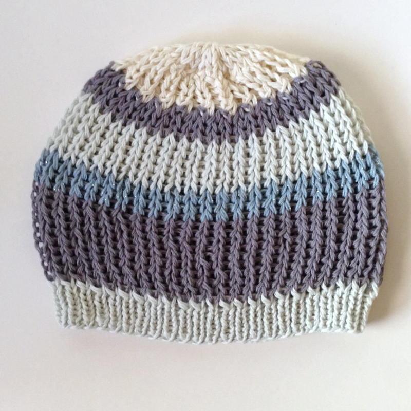 ニット帽  ローゲージ