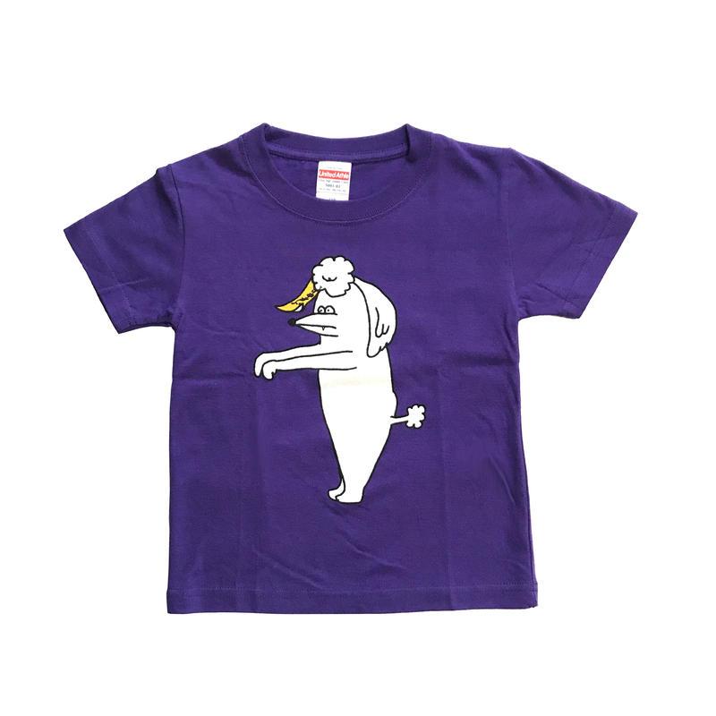 キョンシープードル KIDS Tshirts