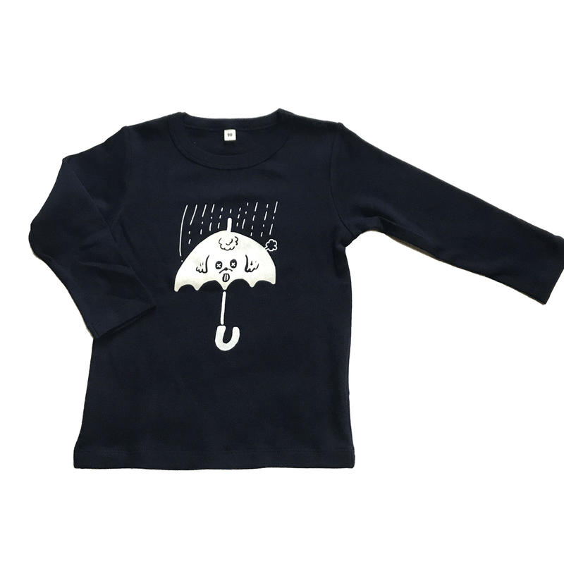 雨プー KIDS Long Sleeve Tshirts