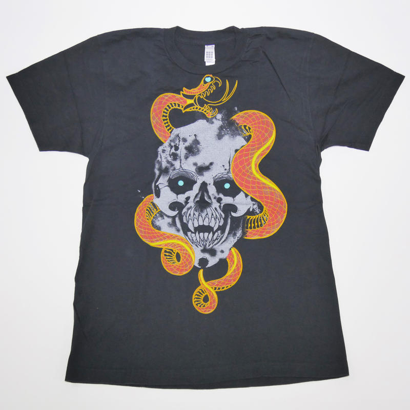 BLACK CLAW  SKULL&SNAKE  T-SHIRT