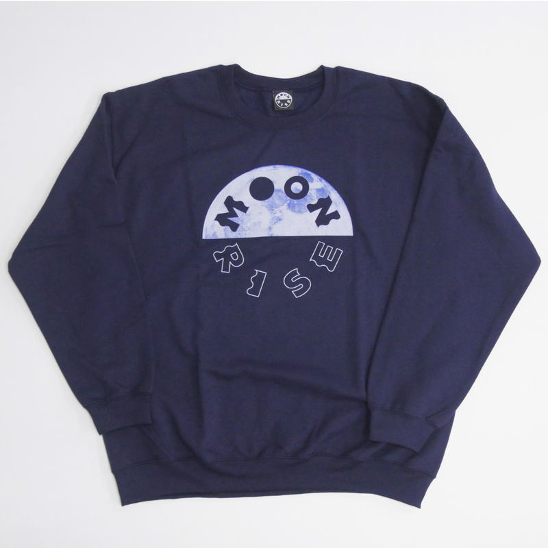 MOONRISE  BLUE MOON CREWNECK