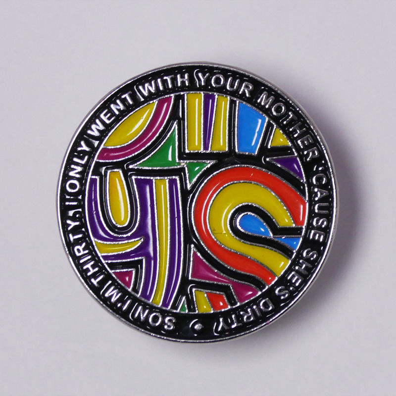 HAPPY MONDAYS   KINKY AFRO PIN