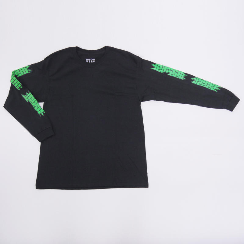 MOONRISE BRICK WALL   LONG SLEEVE T-SHIRT
