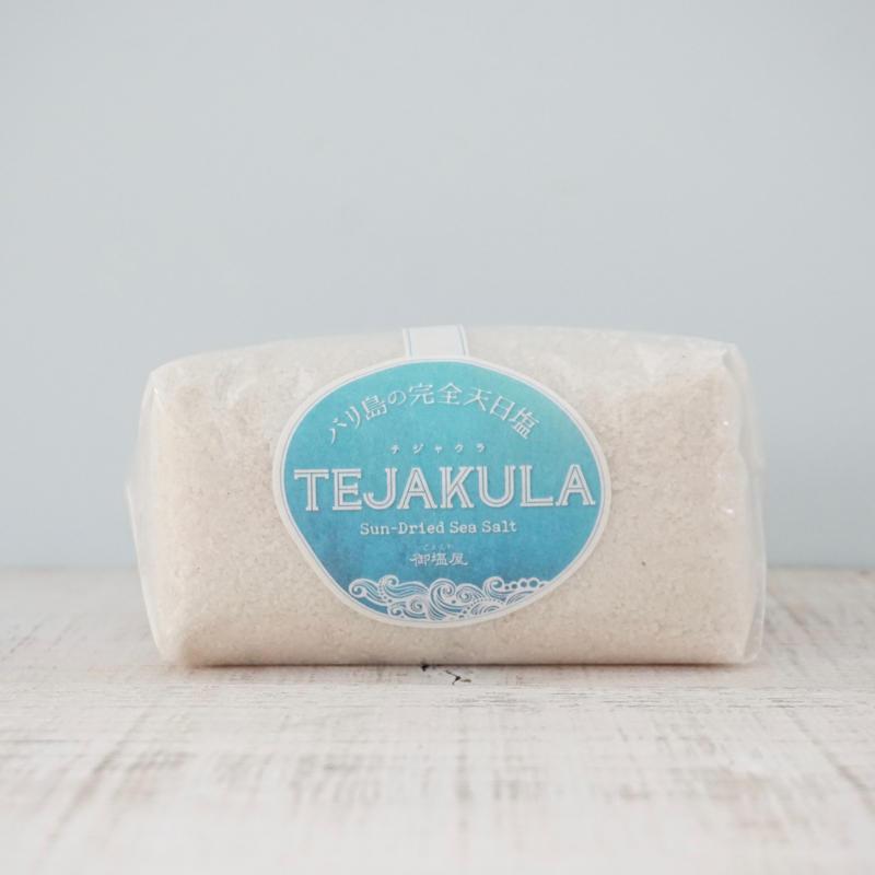 TEJAKULA・バリ島の完全天日塩    <あら塩> 500g