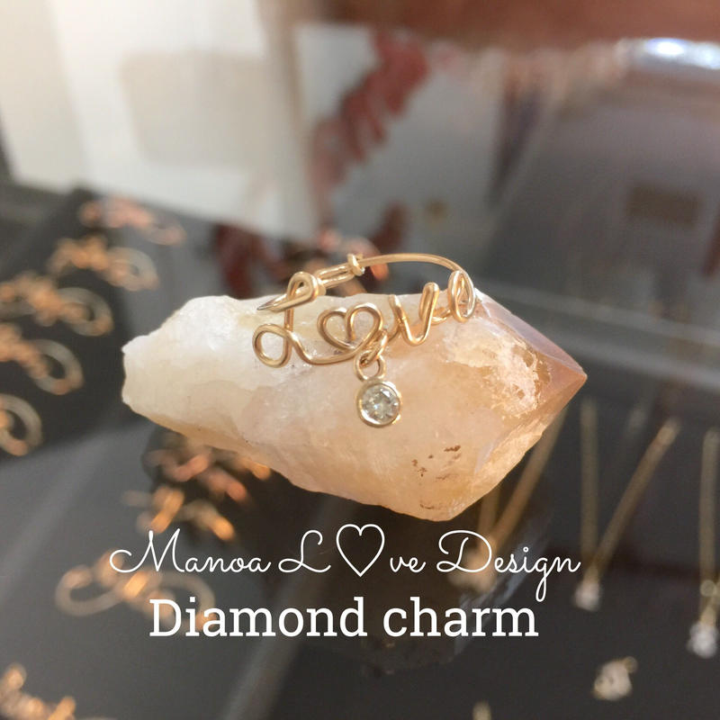 Manoa L♡ve Design/ オプションダイヤチャーム