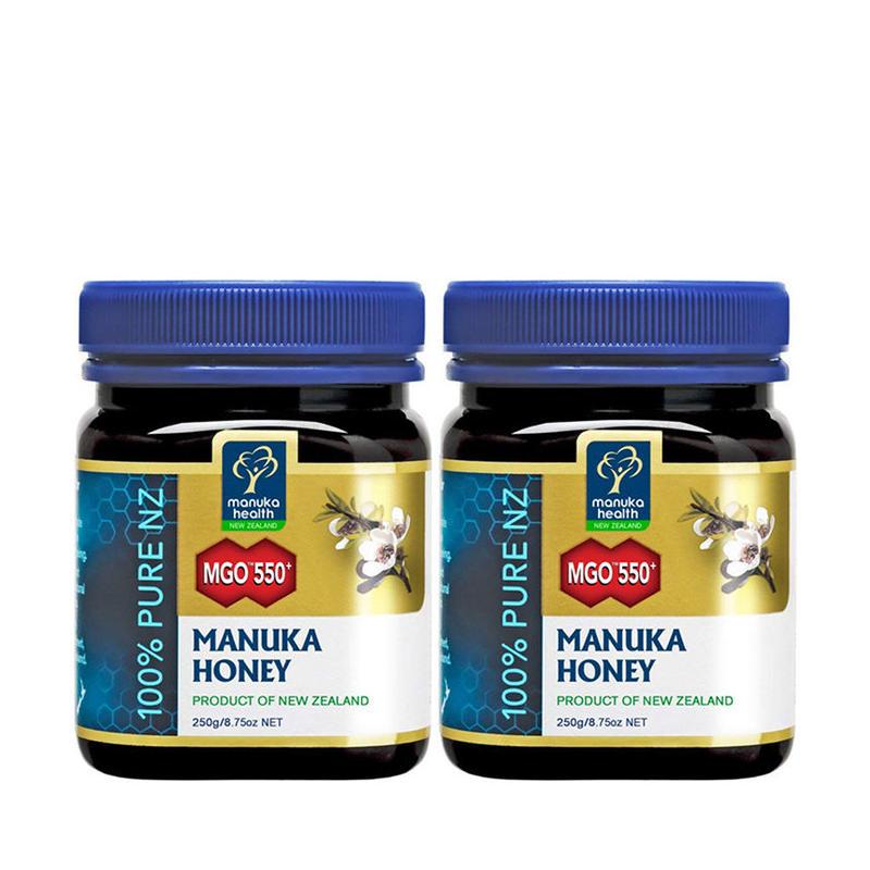 【大変希少な高数値MGO550+】マヌカヘルス MGO™ 550+ Manuka Honey - 250g×2個セット