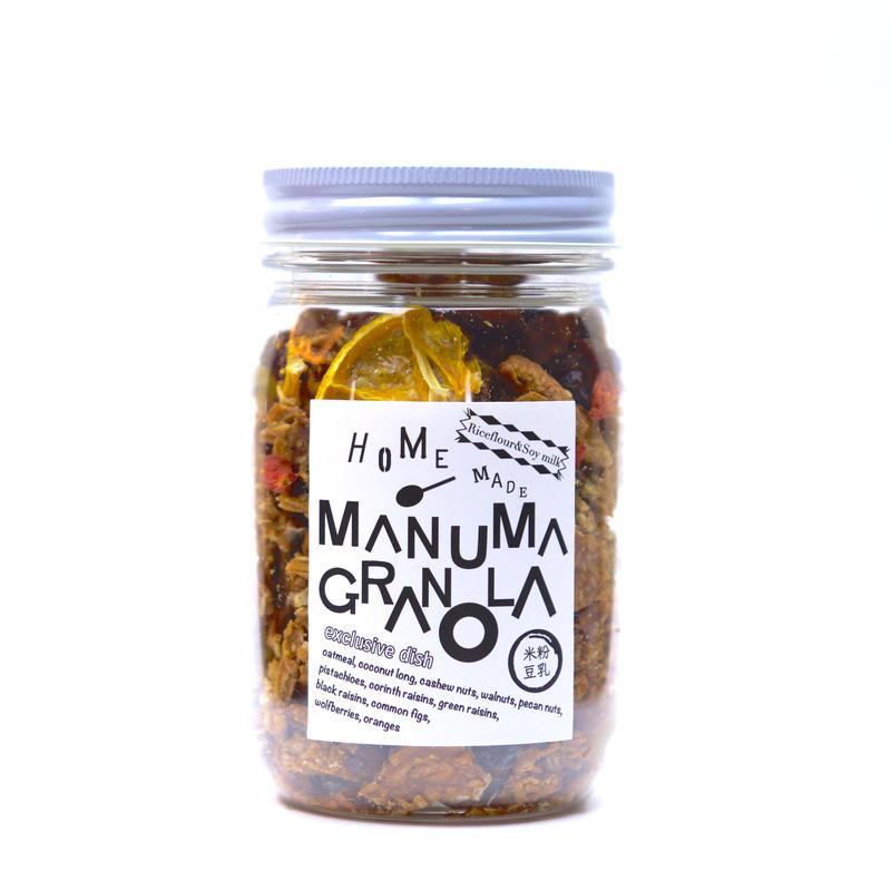 【豆乳&米粉】(190g) MANUMA グラノーラ