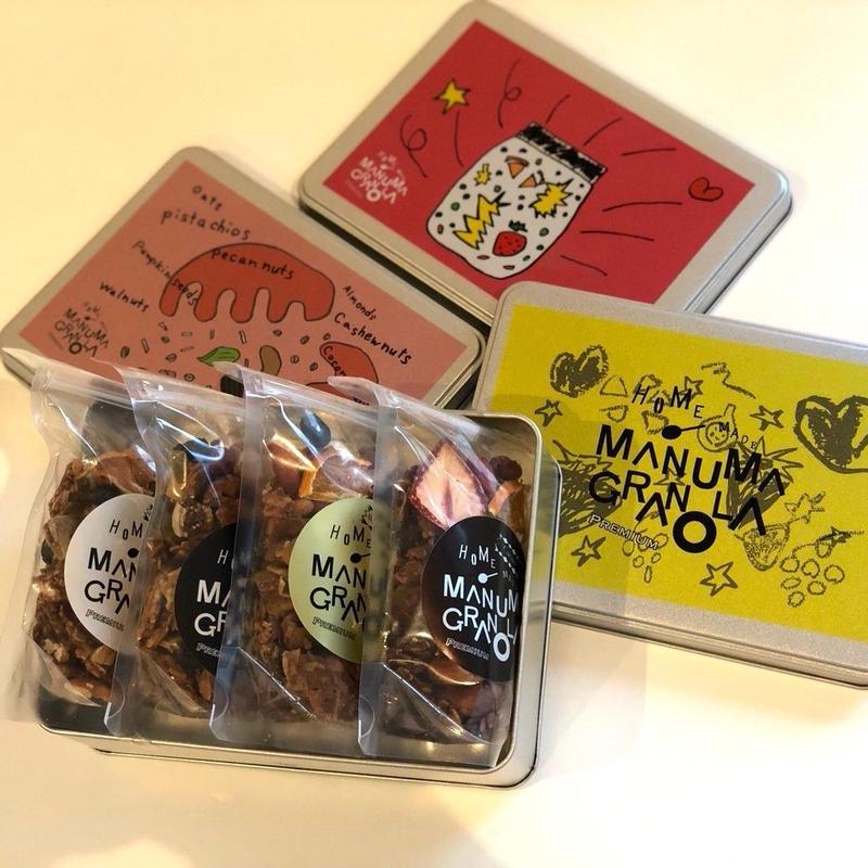 ジュエルボックス、黒糖 X 豆乳&米粉 X 和三盆&生姜 X カカオ