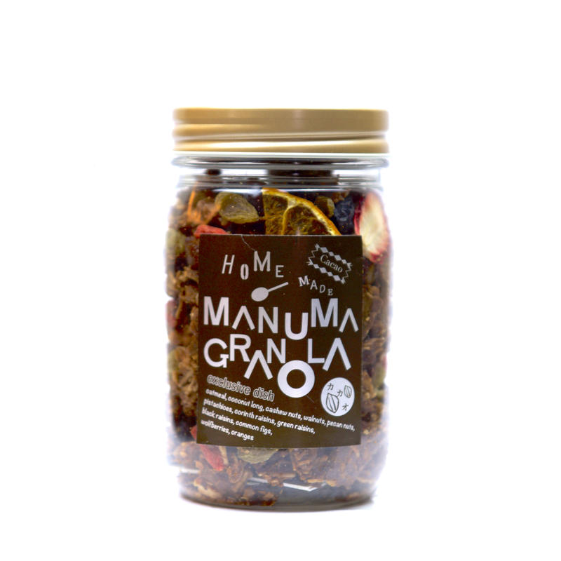 【カカオ】(190g) MANUMA グラノーラ