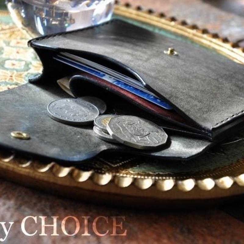 イタリアンレザー・革新のプエブロ・ミニマム財布3色