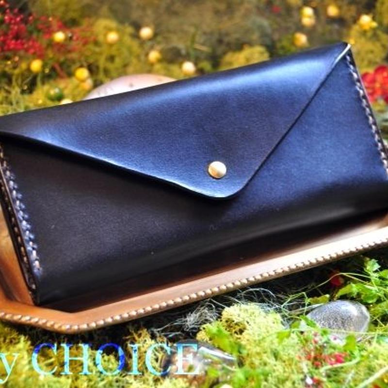 革の宝石・ルガトー・長財布2(黒)