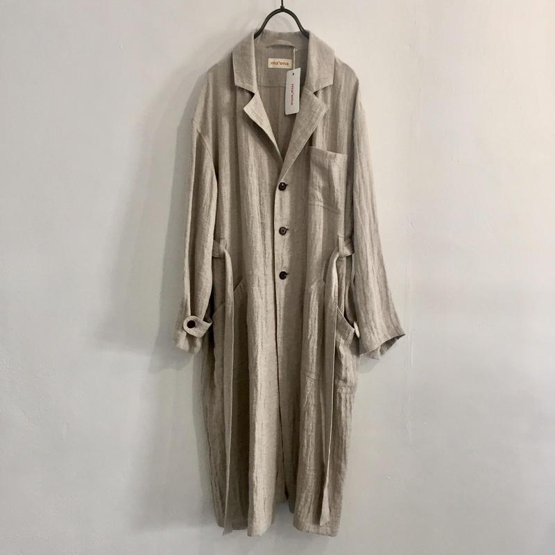 linen-wool work coat