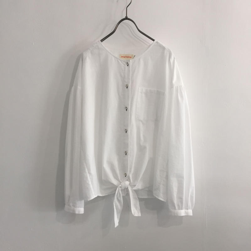 hem ribbon sp-blouse