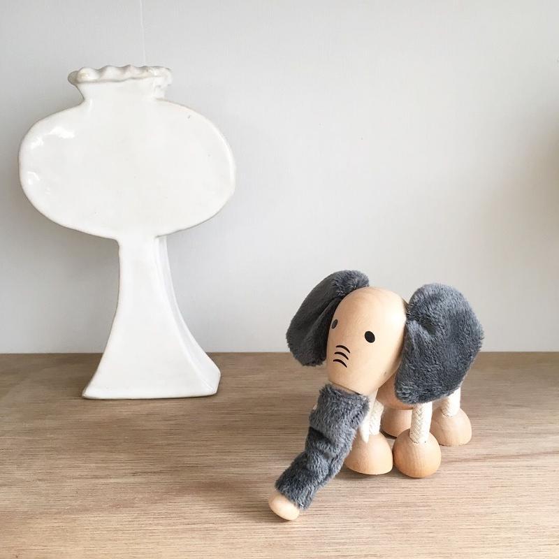 ANAMALZ 木のおもちゃ(ゾウ)