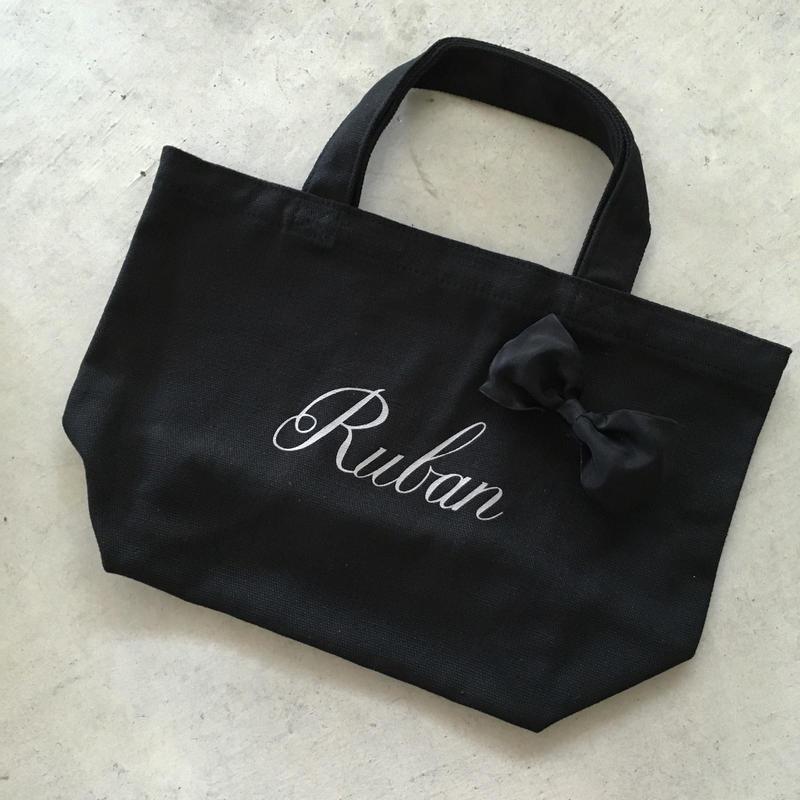 Ruban キャンバストートバッグ S(ワイヤーリボン)