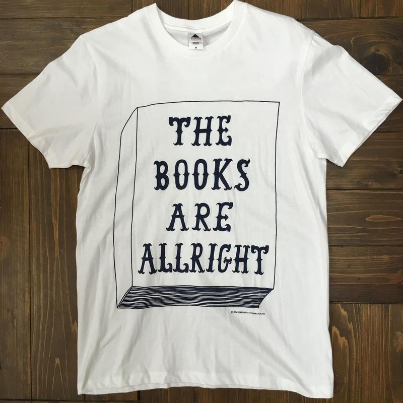 THE BOOKS ARE ALLRIGHT Tシャツ