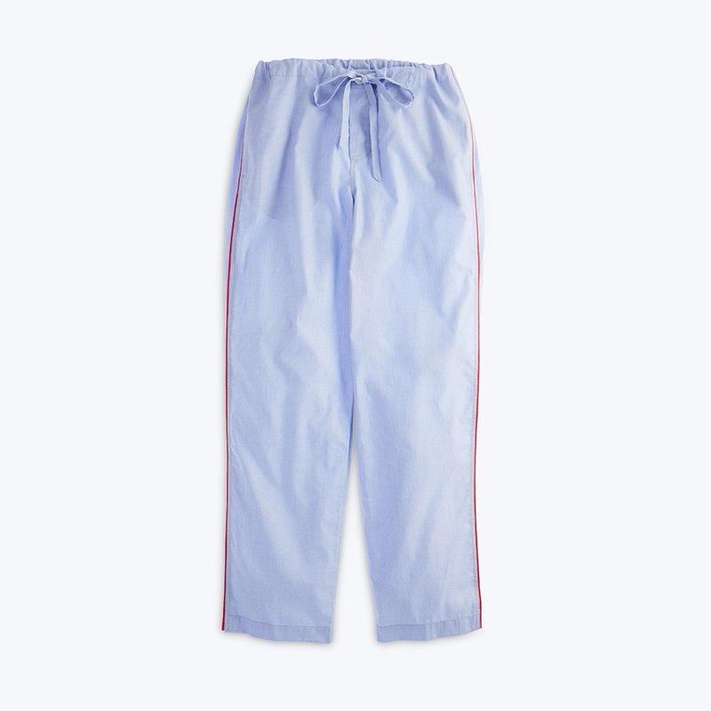 SLEEPY JONES // Marina Pajama Pant End on End Blue