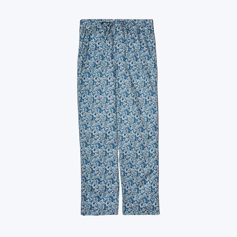 SLEEPY JONES // Marina Pajama Pant Liberty Emma and Geogina Blue