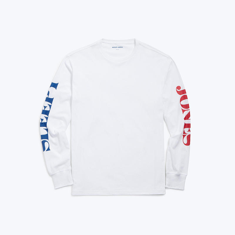 SLEEPY JONES // Long Sleeve Logo T-shirt