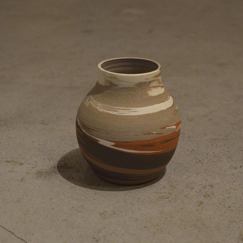 HELEN LEVI / Marbled Vase