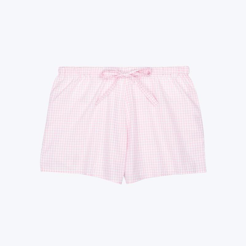 SLEEPY JONES // Paloma Short Small Gingham Pink