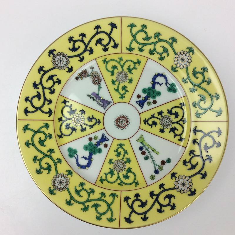 【ヘレンド】SJ 西安(黄色)19cmプレート 2518