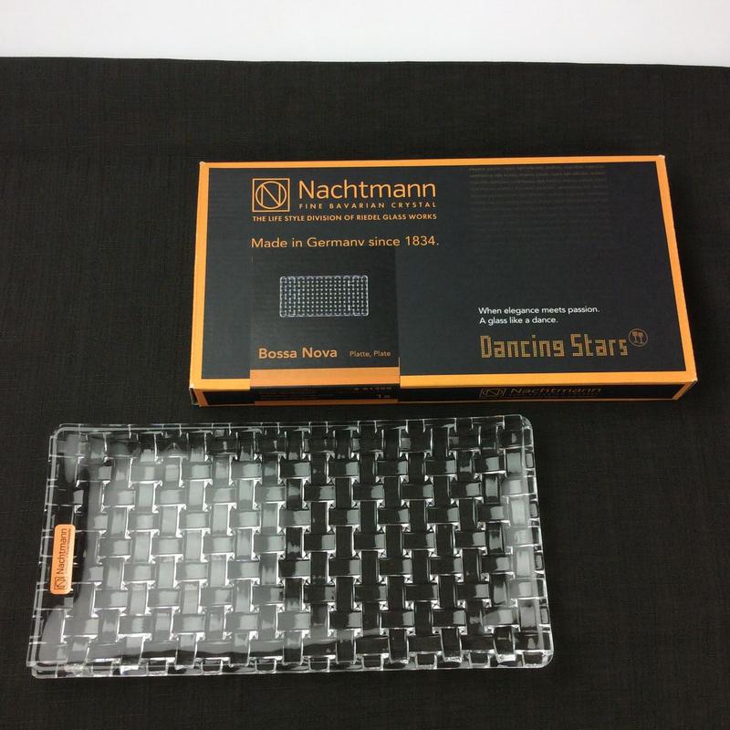 【ナハトマン】ボサノバ  長方形プレート 28×14cm