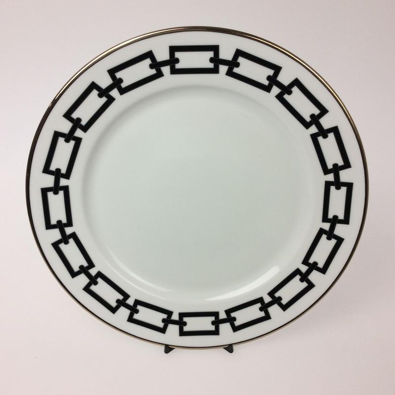【リチャード・ジノリ】カテーネ ネーロ(黒)  28cmプレート