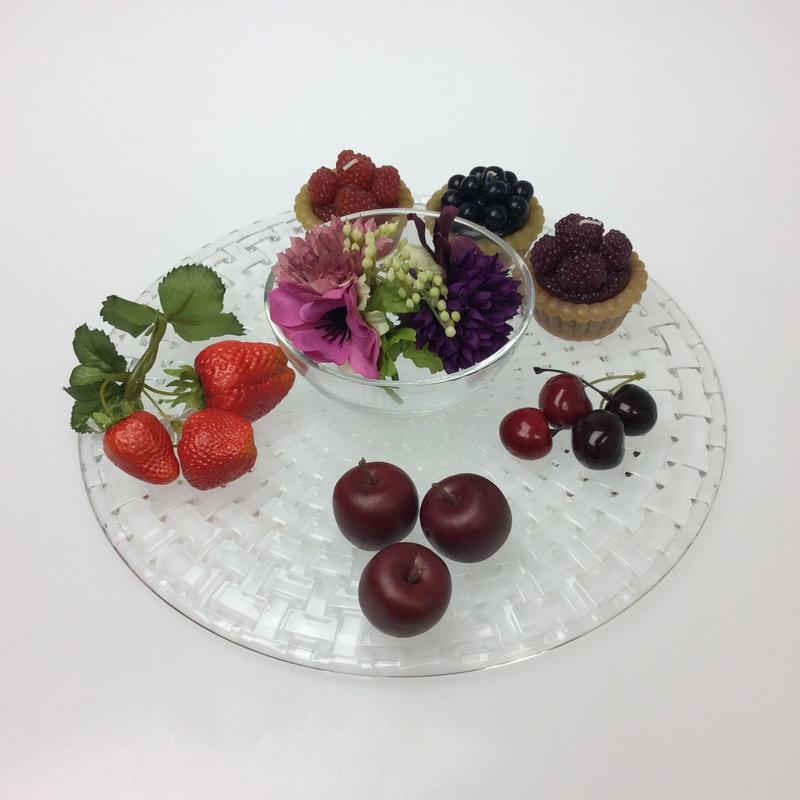 【ナハトマン】ダンシングスター ケーキプレート/チップ&ディップ ボサノバ