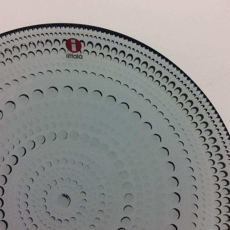 【イッタラ】カステヘルミ 17cmプレート グレイ