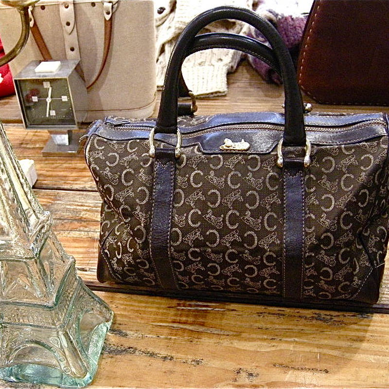ヴィンテージ、セリーヌのボストンバッグ