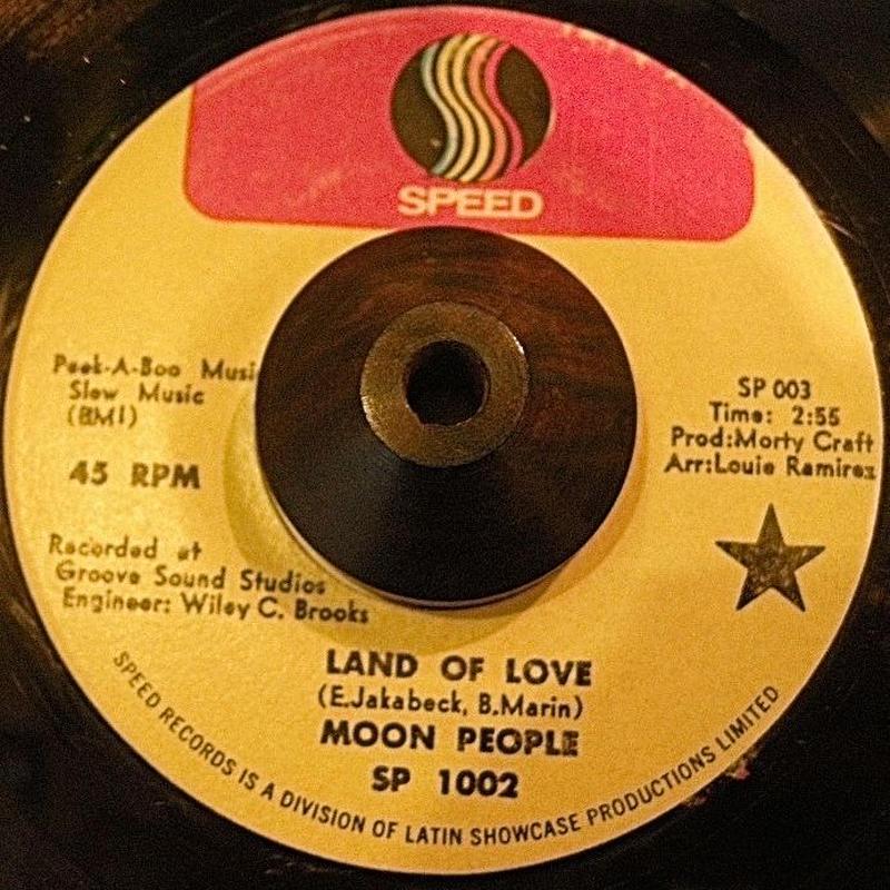 Latin Soul45 MOON PEOPLE / LAND OF LOVE